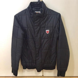 アヴィレックス(AVIREX)のAVIREX アビレックス ジャケット XS 黒 中綿 レディース ジャンパー(ブルゾン)