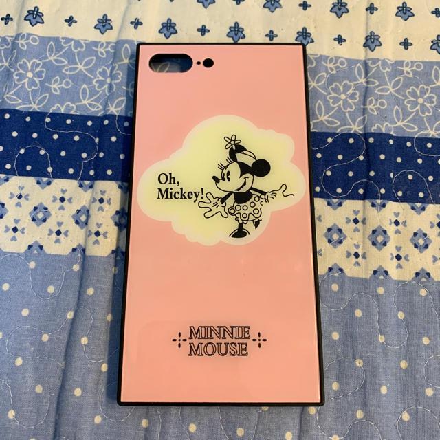 Disney(ディズニー)のミニーマウス iPhone7plus/8plus用ケース スマホ/家電/カメラのスマホアクセサリー(iPhoneケース)の商品写真