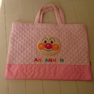 アンパンマン(アンパンマン)のアンパンマン★レッスンバック★女の子用★ピンク(バッグ/レッスンバッグ)
