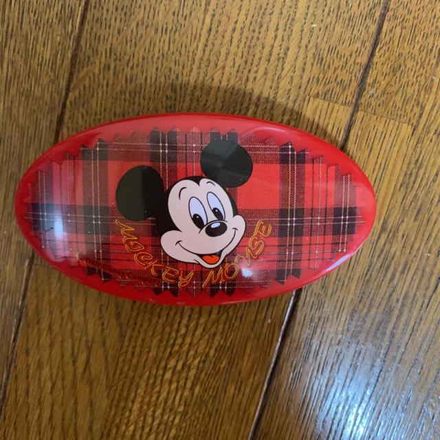 Disney(ディズニー)のヘアアクセサリー バレッタ ミッキーマウス レディースのヘアアクセサリー(バレッタ/ヘアクリップ)の商品写真