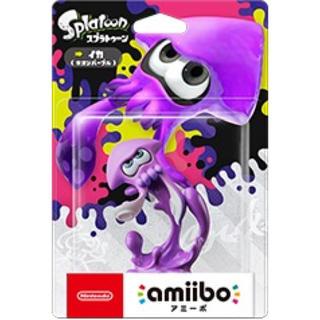 ニンテンドースイッチ(Nintendo Switch)のスプラトゥーン2アミーボ(イカ☆ネオンパープル)(その他)