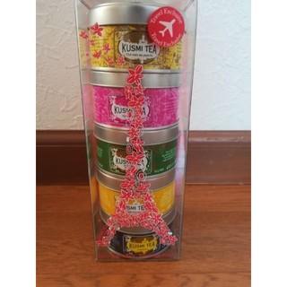 kusmi tea フランス限定パッケージ定価5400円紅茶  (茶)