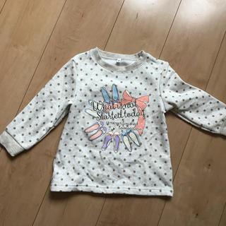 シマムラ(しまむら)の裏起毛 トレーナー(Tシャツ/カットソー)