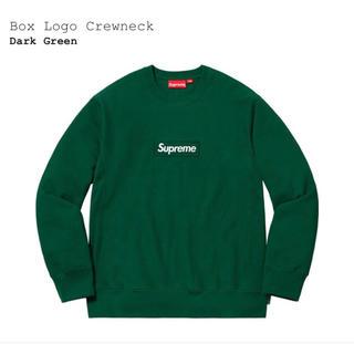 シュプリーム(Supreme)のSupreme Box Logo Crewneck green royal(スウェット)