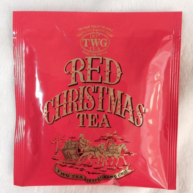TWG クリスマスティー RED CHRISTMAS TEA 7回分 食品/飲料/酒の飲料(茶)の商品写真
