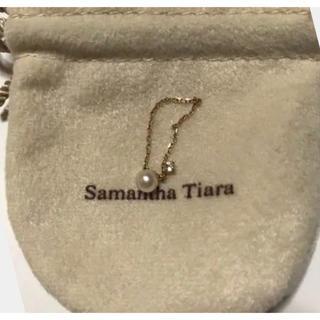 サマンサティアラ(Samantha Tiara)の特価❤︎Samantha Tiara×紗栄子コラボ❤︎チェーンリング入手困難(リング(指輪))