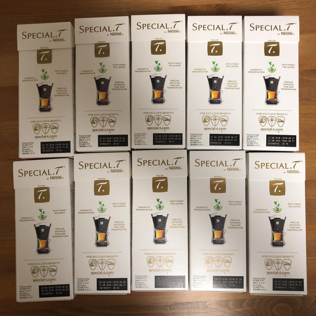 Nestle(ネスレ)のネスレ スペシャルT 10箱 食品/飲料/酒の飲料(茶)の商品写真