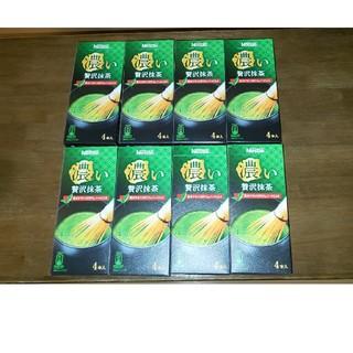 ネスレ(Nestle)のネスレ 濃い贅沢抹茶  4本入り×8箱(茶)