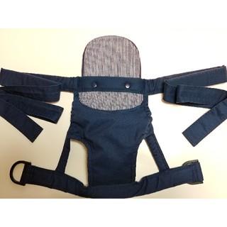 ニシマツヤ(西松屋)の西松屋 抱っこ紐 濃紺ヒッコリー ストライプ(抱っこひも/おんぶひも)