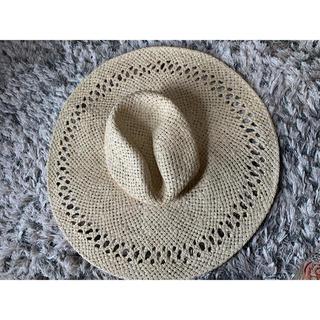 エイチアンドエム(H&M)のH&M 麦藁帽子(麦わら帽子/ストローハット)