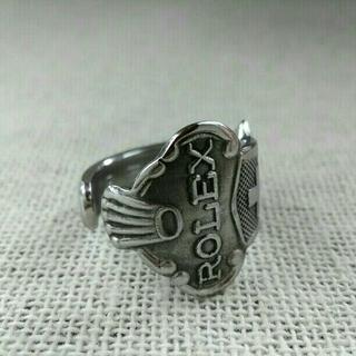 ロレックス(ROLEX)のスプーンリング ロレックス(リング(指輪))