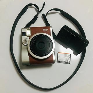 フジフイルム(富士フイルム)のチェキ instax mini 90(フィルムカメラ)