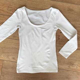 シマムラ(しまむら)の白色 インナーシャツ レディース(アンダーシャツ/防寒インナー)