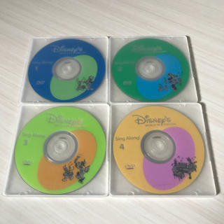 Disney - DWE ディズニー英語システム Sing Along! DVD 4枚セット