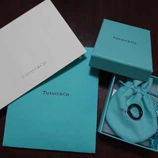 ティファニー(Tiffany & Co.)のティファニー Tiffany ブラックチタンリング 8号 大宮そごう購入(リング(指輪))