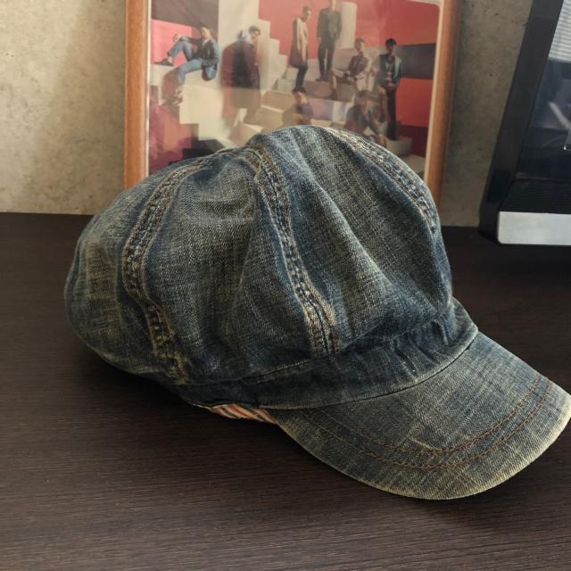 Ungrid(アングリッド)のデニムキャスケット レディースの帽子(キャスケット)の商品写真