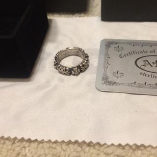 クロムハーツ(Chrome Hearts)の元クロムハーツデザイナーが手がける A&G クロムハーツ純銀 リング(リング(指輪))