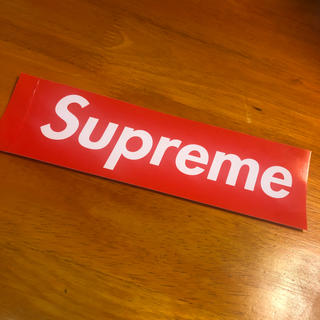 シュプリーム(Supreme)のsupreme (ステッカー(シール))