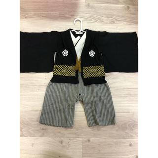 袴ロンパース 95(和服/着物)