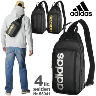 アディダス(adidas)のアディダス ボディバッグ adidas ショルダー 斜めがけ 55041 最新作(ボディーバッグ)