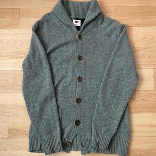 ヒステリックグラマー(HYSTERIC GLAMOUR)のTMT ニット カーディガン セーター アメリカ国旗 美中古(ニット/セーター)