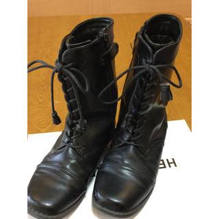 コムサイズム(COMME CA ISM)のCOMME CA ISM  編み上げブーツ さおん様専用(ブーツ)