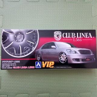 アオシマ(AOSHIMA)の1/24 アオシマ クラブリネアL566 ホイール タイヤ(模型/プラモデル)