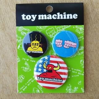 トイマシーン(Toy Machine)のトイマシーン カンバッジセットB(スケートボード)
