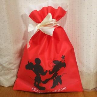 ディズニー(Disney)のディズニー ラッピング袋 ミッキー ラッピングバック(ラッピング/包装)