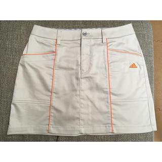 アディダス(adidas)のアディダス ゴルフ スカート M ベージュ(ウエア)