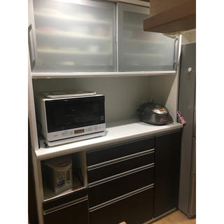 ニトリ(ニトリ)のはるか様専用  ニトリ    食器棚  キッチンボード  140(キッチン収納)