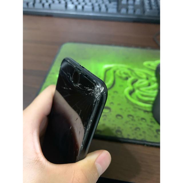 iPhone(アイフォーン)のiPhone7 128GB ブラック  スマホ/家電/カメラのスマートフォン/携帯電話(スマートフォン本体)の商品写真