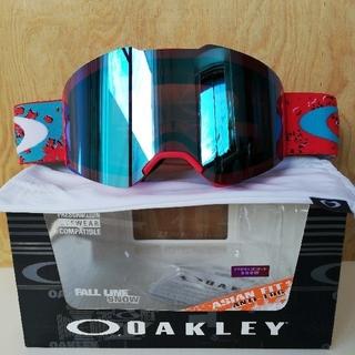 Oakley - 【最新2019モデル FALL LINE】ゴーグル・赤