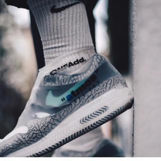 アトモス(atmos)の完売新品atomosアトモスレインソックスニーカーカバーrain socks(スニーカー)