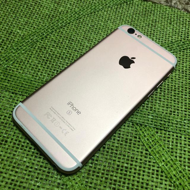 iPhone(アイフォーン)のiPhone6s 64GB SIMフリー✨ スマホ/家電/カメラのスマートフォン/携帯電話(スマートフォン本体)の商品写真