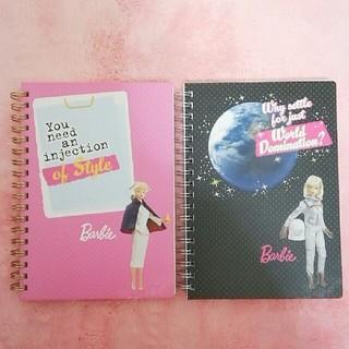 バービー(Barbie)の☆Barbie☆ ノート2冊set B(ノート/メモ帳/ふせん)