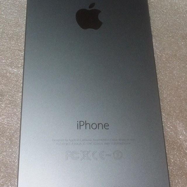 iPhone(アイフォーン)のiPhone5s 16GB 本体 docomo ライトニングケーブル付き スマホ/家電/カメラのスマートフォン/携帯電話(スマートフォン本体)の商品写真