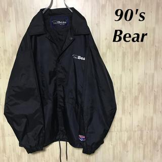 ベアー(Bear USA)の美品 90's Bear USA ナイロン コーチジャケット(ナイロンジャケット)