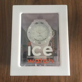 アイスウォッチ(ice watch)の《新品タグ付き》ice watch アイスウォッチ ホワイト ユニセックス(腕時計)