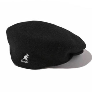 カンゴール(KANGOL)のKANGOL/ハンチングベレー帽 ブラック(ハンチング/ベレー帽)
