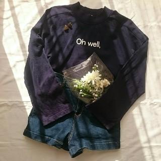 ジーユー(GU)のGU Oh'well ロゴTシャツ(Tシャツ(長袖/七分))