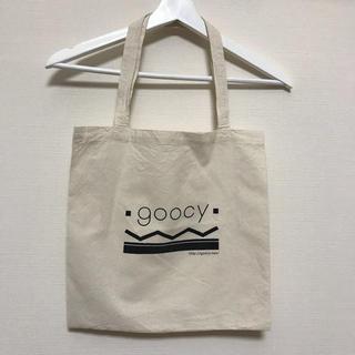 グースィー(goocy)の#未使用 goocy トートバッグ 綿100%(トートバッグ)