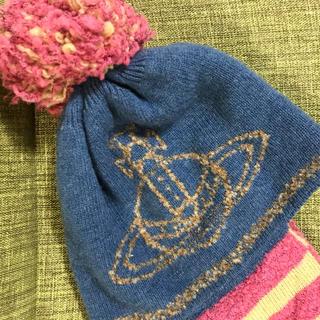 ヴィヴィアンウエストウッド(Vivienne Westwood)の超美品!ヴィヴィアンニット帽(ニット帽/ビーニー)