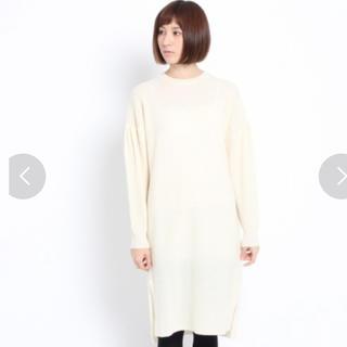 エージーバイアクアガール(AG by aquagirl)の新品 タグ付き  AG  ニットワンピース(ひざ丈ワンピース)
