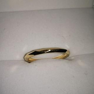 デザイナーズ カットリング 18金(リング(指輪))