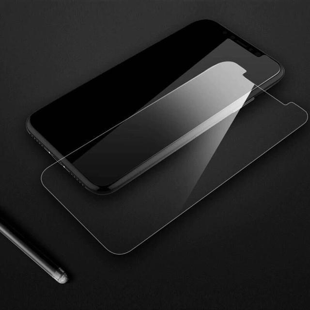 iPhone☆強化ガラス保護フィルム 最高強度9H スマホ/家電/カメラのスマホアクセサリー(保護フィルム)の商品写真