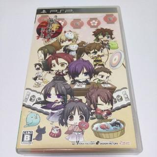 プレイステーションポータブル(PlayStation Portable)のPSP 薄桜鬼 遊戯録弐 祭囃子と隊士達(携帯用ゲームソフト)