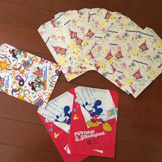 Disney - ディズニー紙袋 13枚