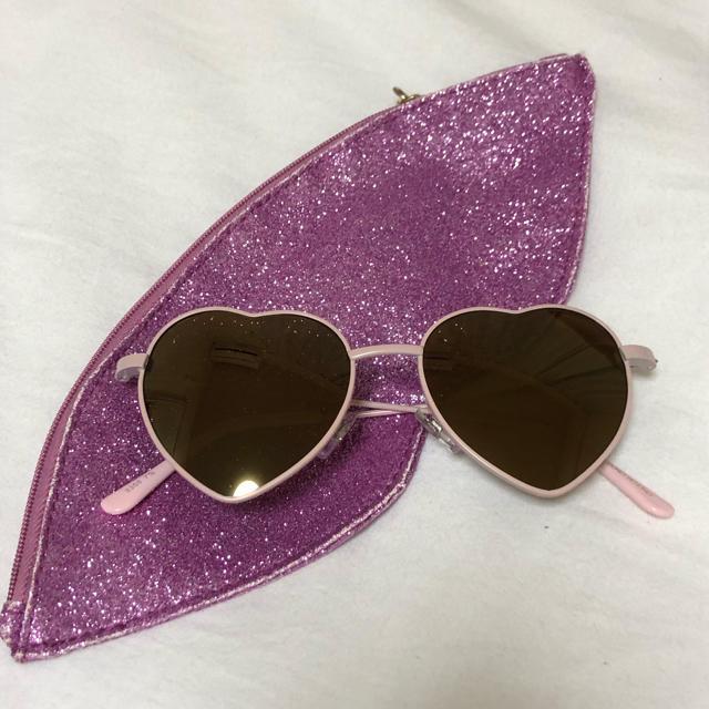 Honey mi Honey(ハニーミーハニー)のハートサングラス レディースのファッション小物(サングラス/メガネ)の商品写真