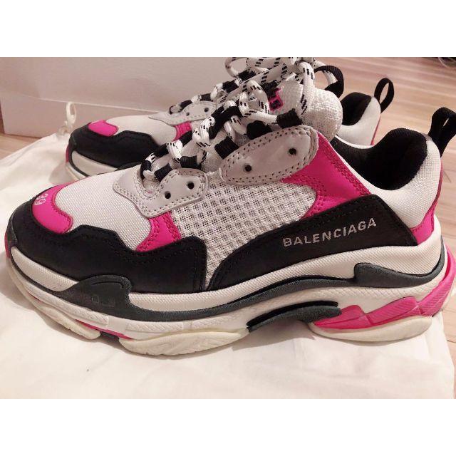 Balenciaga(バレンシアガ)のBALENCIAGA triple s 39 ピンク トリプルエス レディースの靴/